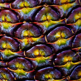 Pineapple Skin by Nicolas Los Baños - Abstract Patterns ( abstract, fruit, patterns, nature, pineapple, garden,  )