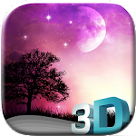 Night Sky 3D Wallpaper Icon