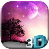 Night Sky 3D Wallpaper