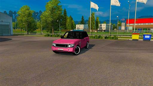 Luxury Prado Jeep Spooky Stunt Parking Range Rover screenshots 1
