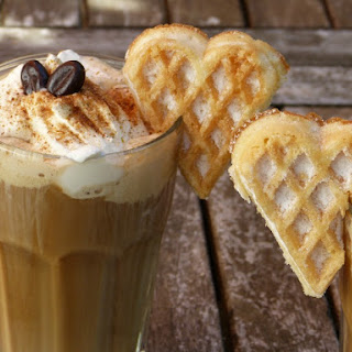 Yummy Butter Toffee Coffee Recipe With Ice Cream.