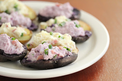 Double stuffed potatoes