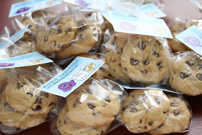 photo of cookies packaged in bags