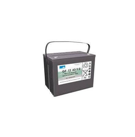 Gelbatteri Sonnenschein 12V/63Ah/5h