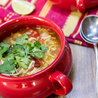 Mexican Chicken Noodle Soup.