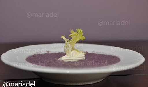 Crema de col lombarda blog mariadel for Cocinar col lombarda