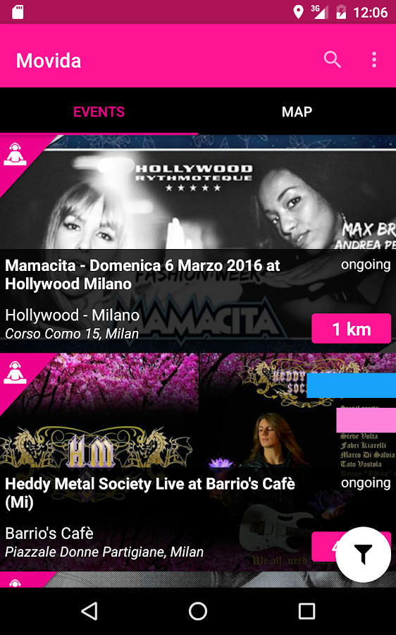Movida | events & concerts- screenshot