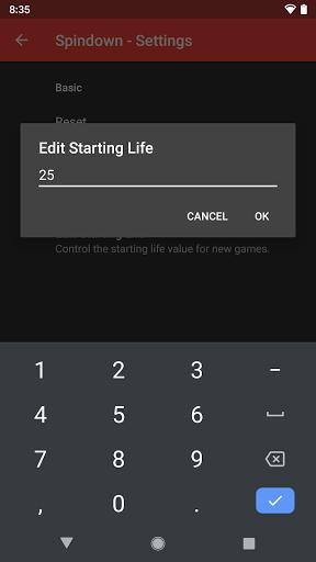 Spindown - MTG Life Tracker apktram screenshots 4