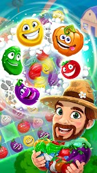 Funny Farm match 3 game APK screenshot thumbnail 13