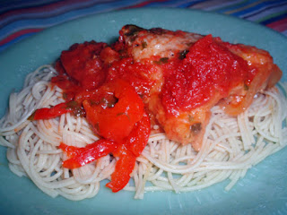 Puerto Rican Spaghetti With Chicken Recipe