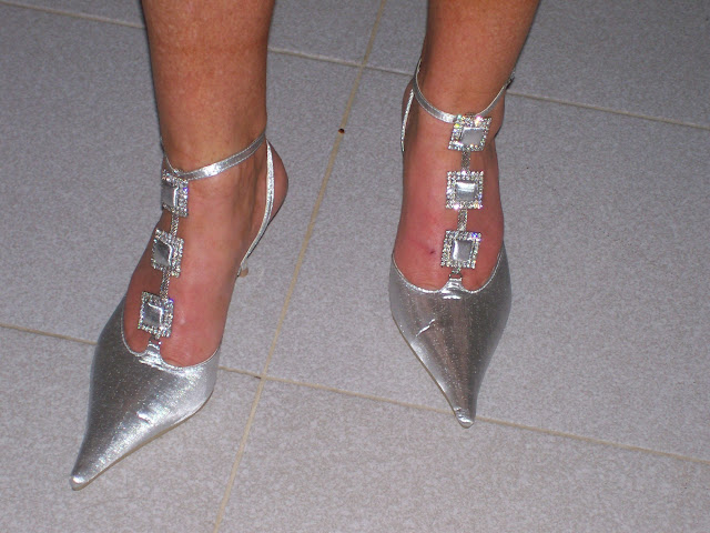 Bridal Shoes - Silver