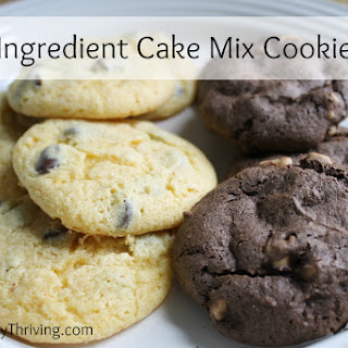 5 Ingredient Cake Mix Cookies