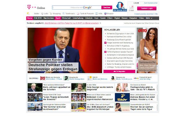 T Online Themen