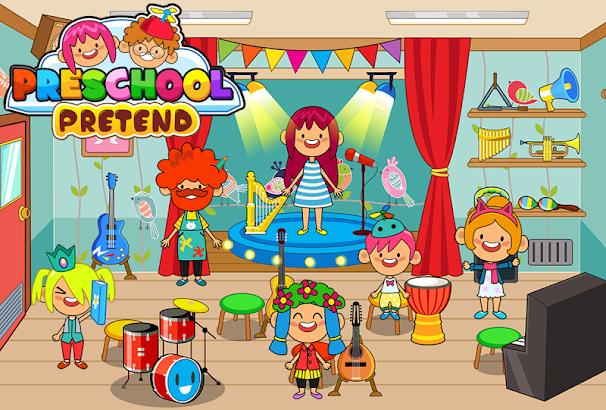 Pretend Preschool - Kids School Learning Games- screenshot thumbnail