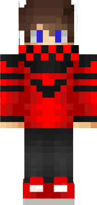 a pro minecraft skin that i made because i was bored.