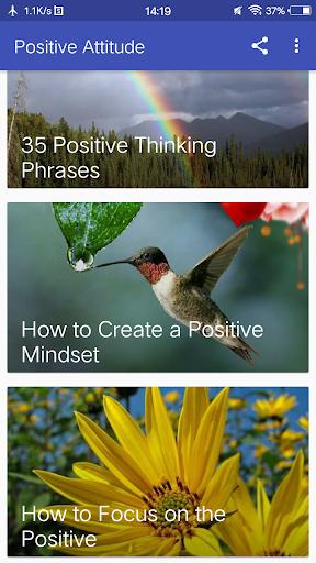 Attitude Positive