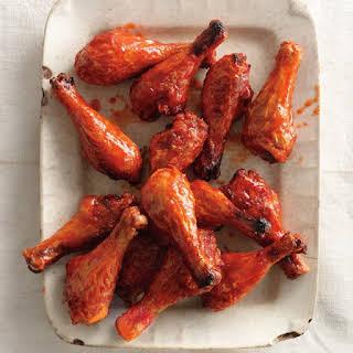 Sweet and Spicy Chicken Drumsticks.
