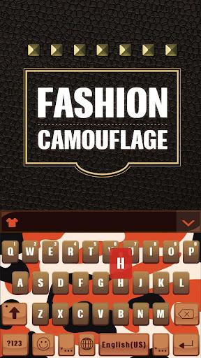 Fashion Camo for Kika Keyboard