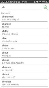 Oxford 3000 - Look up sentences - náhled