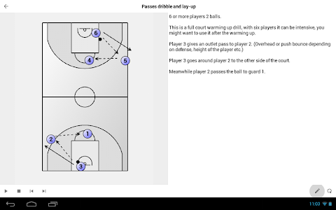 Basketball Playview screenshot 3