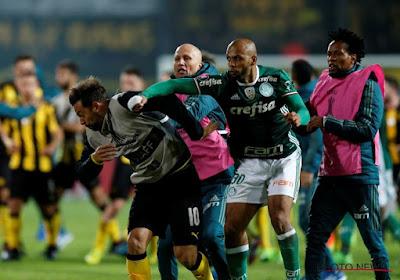 🎥 Kent u Felipe Melo nog? De 37-jarige middenvelder heeft zich met Palmeiras geplaatst voor de finale van de Copa Libertadores en kan zijn vreugde niet bedwingen
