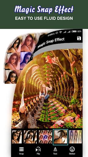 Magic Snap Effect - Photo Editor 1.5 screenshots 6