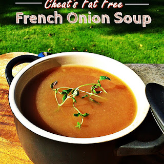 Cheat's Fat Free French Onion Soup & October's Credit Crunch Munch