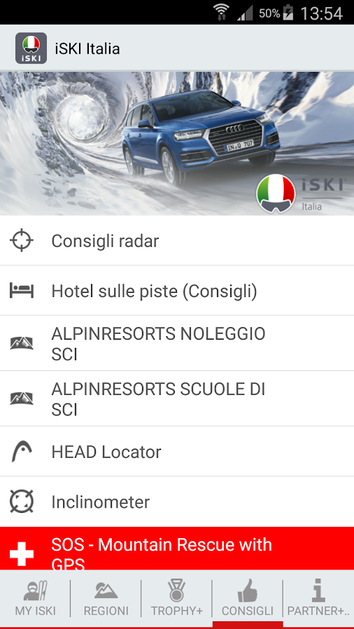 iSKI Italia- screenshot
