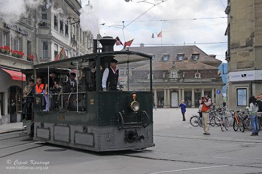 Трамвай у Берні