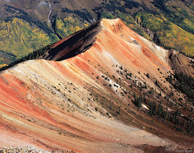 Photo: Red Mountain No. 2. San Juan Mountains - September