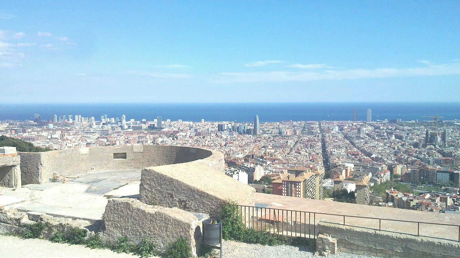 bunkers del carmel view Barcelona