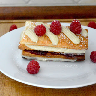 Raspberries Mille Feuille