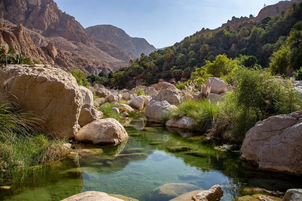 Wadi Tiwi, Oman