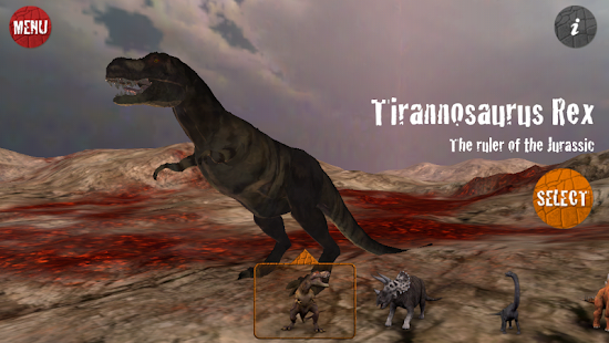 3Dino - The world of dinosaurs- screenshot thumbnail