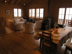 Photo: Inside the chalet