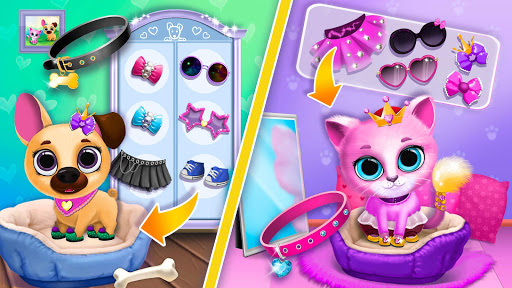 Kiki & Fifi Pet Friends - Virtual Cat & Dog Care 4.0.93 screenshots 5