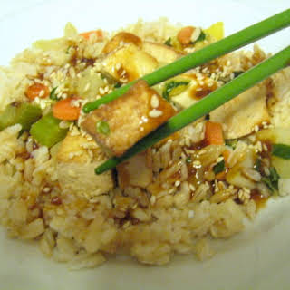 Pan Fried Tofu.
