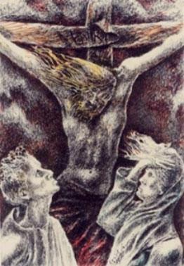"""vaticano la estatua """"la resurreccion"""" Fazzini-disperazione"""