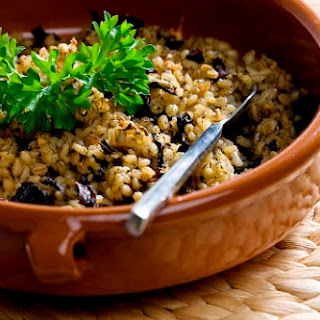 Roasted Barley and Herb Pilaf by Laura Kelley