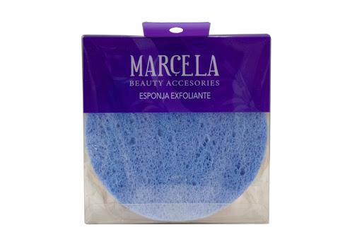 esponja marcela facial exfoliante circular