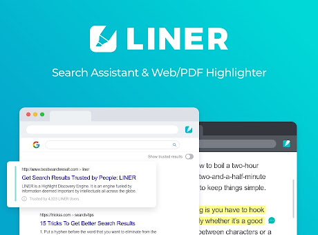 LINER - Search Assistant & Web Highlighter