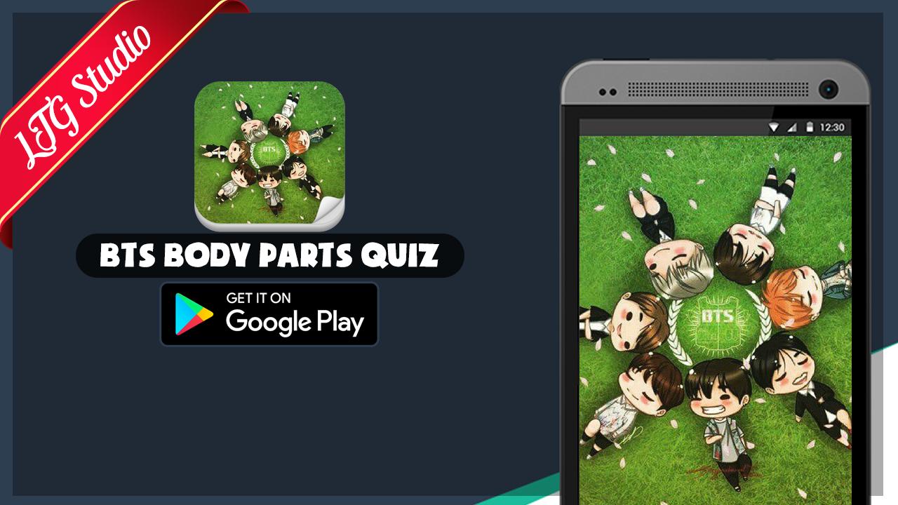 Google theme kpop exo - Bts Body Kpop Quiz Game Screenshot