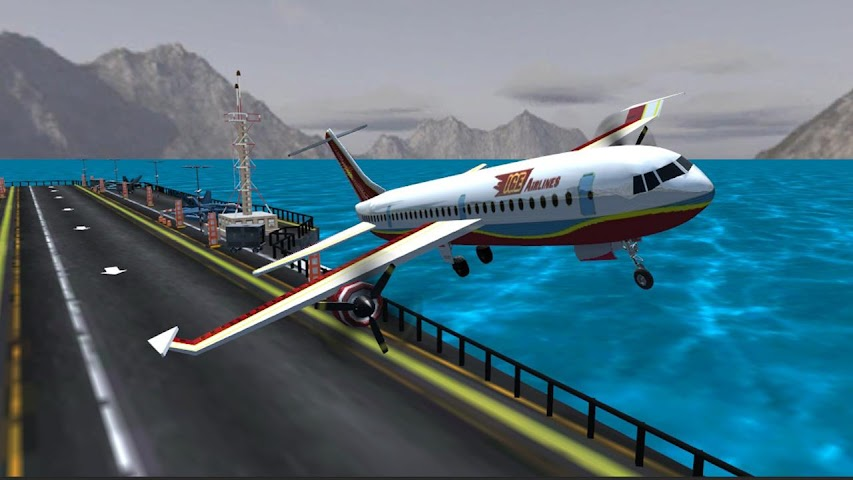 android Airplane Fly Simulator Flight Screenshot 1