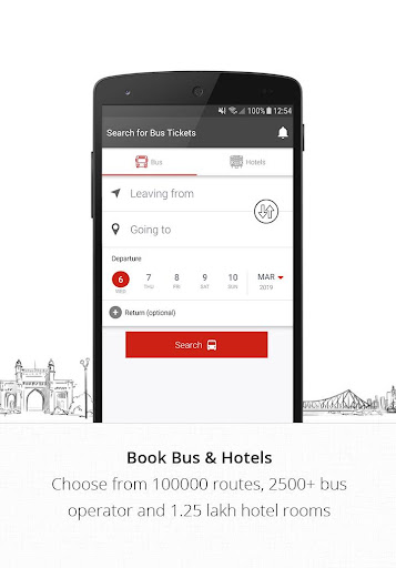 AbhiBus - Online Bus Ticket Booking, Hotel Booking 3.4.1 screenshots 1