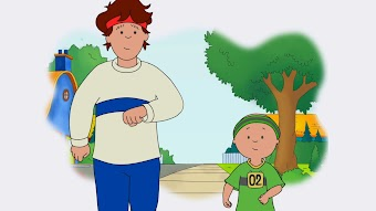 Caillou's Mini Marathon/Smooth Sailing/Am I Big Yet?