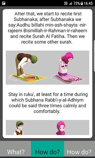 Salah Guides With Pictures All Salahs Prayer screenshot 24