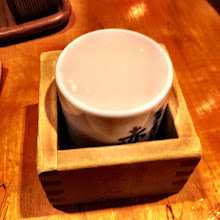 Photo: A cup of that cloudy sake