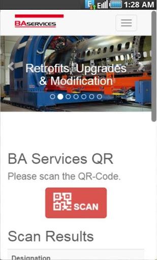 BA Services QR