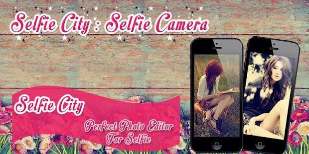 Selfie City : Selfie Camera screenshot