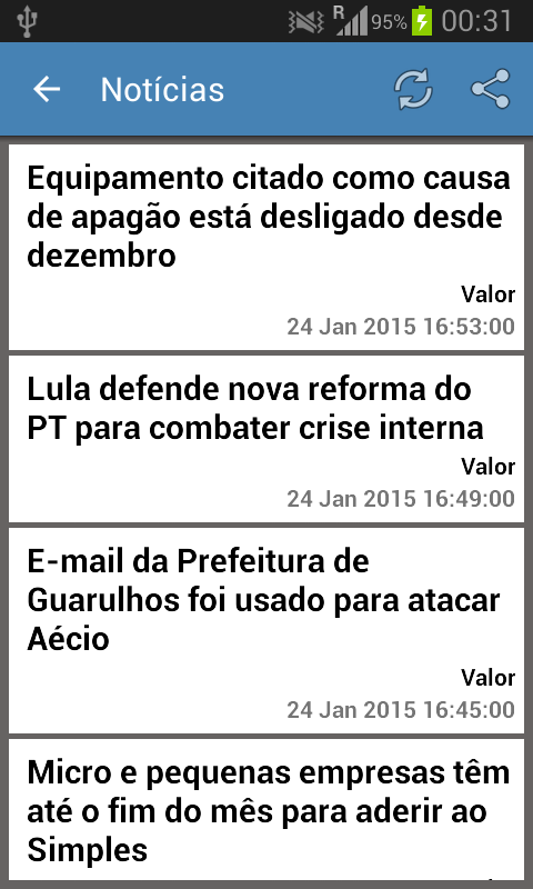Brazil News & More- screenshot